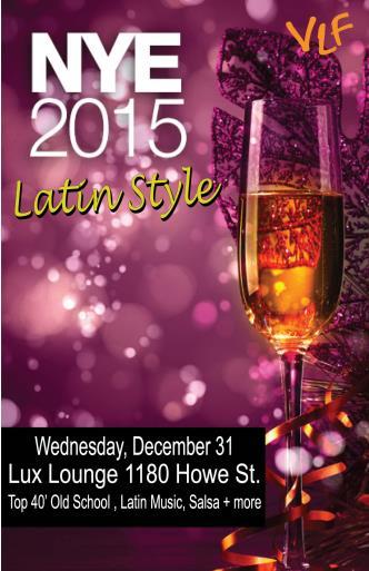 NYE 2015 Latin Style