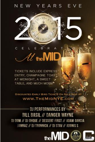 The Mid's NYE Party