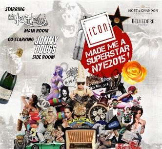 New Years Eve at Icon