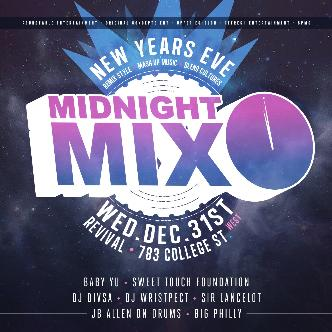 Midnight Mix NYE 2015