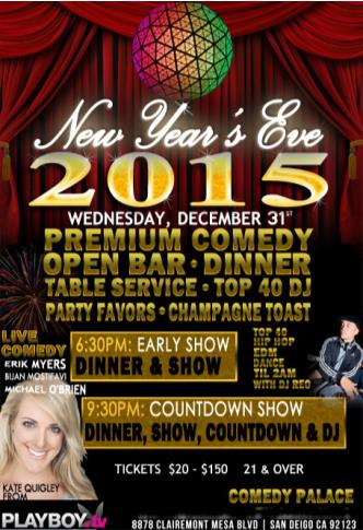 New Year's Eve - Early show