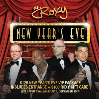 New Year's Eve 2015 @ The Roxy