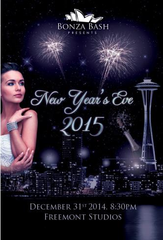 Bonza Bash New Year's Eve 2015
