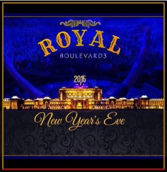 A ROYAL NYE @ BOULEVARD3
