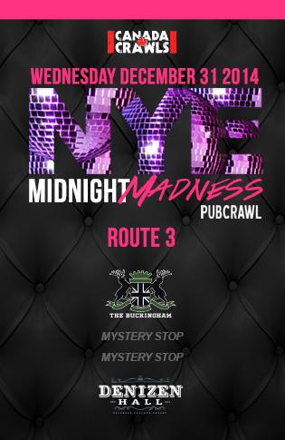 Rte3 : Midnight Madness Crawl