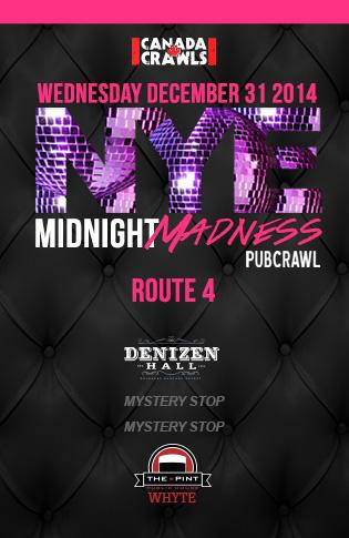 Rte4 : Midnight Madness Crawl