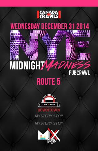 Rte5 : Midnight Madness Crawl