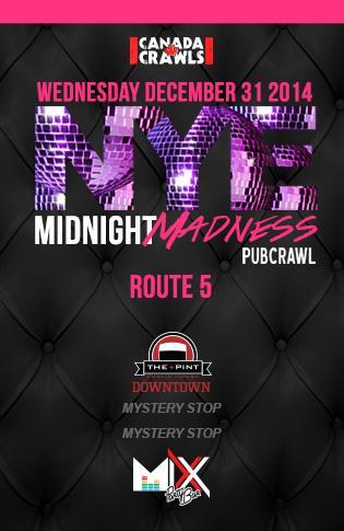 Rte5 : Midnight Madness Crawl