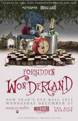 Forbidden Wonderland-NYE 2015