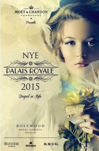 Palais Royale NYE 2015