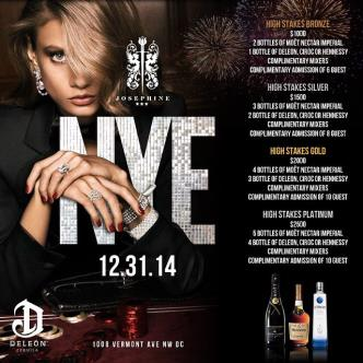 Ring in 2015 at Josephine-img
