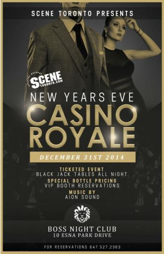 New Years Eve Casino Royale