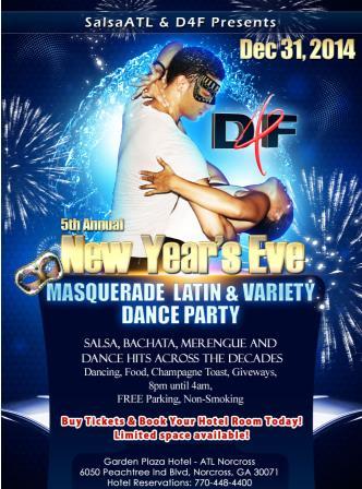 New Years Eve Masquerade Salsa