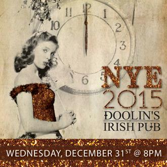 NYE 2015 at Doolin's Irish Pub