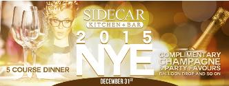 SIDECAR Kitchen + Bar 2015NYE