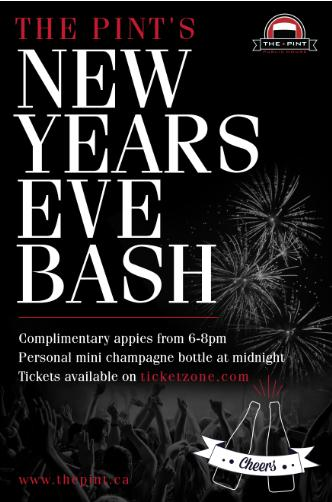 The Pint's New Year's Eve Bash