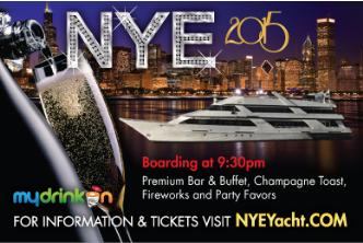 NYE 2015 Yacht Party - Chicago