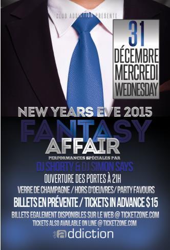 FANTASY AFFAIR NYE 2015