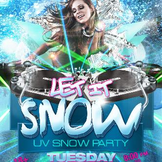 "Let It Snow ""UV Snow Party""-img"