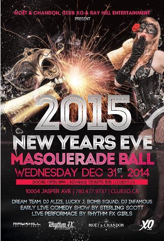 NYE 2015 MASQUERADE BALL