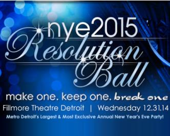 NYE 2015 Resolution Ball