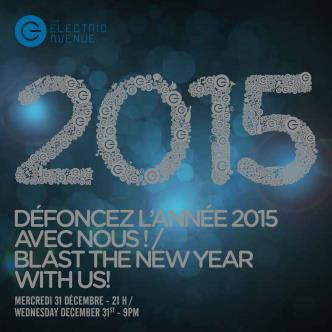 NYE 2015 at Electric Avenue