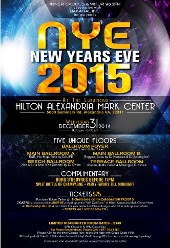 NEW YEAR'S EVE GALA 2015