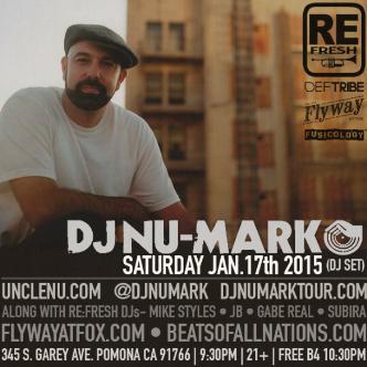 Re:Fresh presents DJ Nu-Mark-img