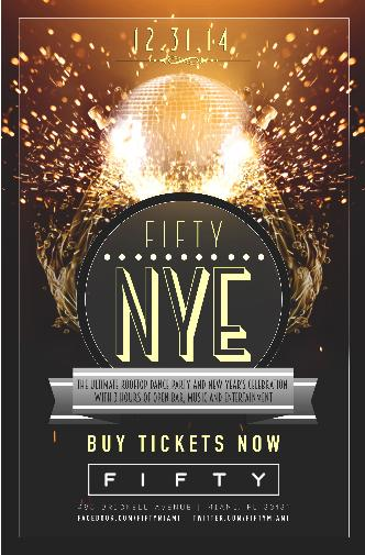 FIFTY ROOFTOP NYE 2015