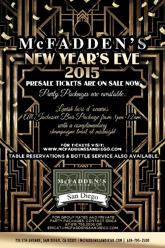 Gatsby New Year's Eve 2015