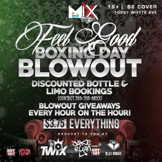 Boxing Day Blowout