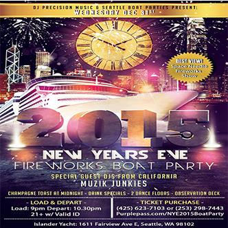 New Years Eve 2015 Boat Party