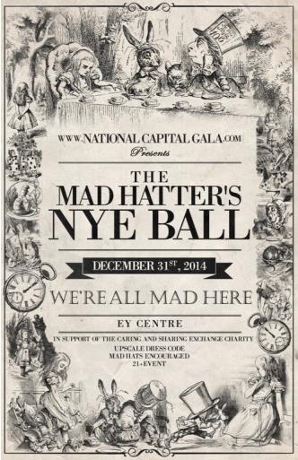 The Mad Hatters New Years Ball