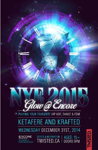 GLOW NYE 2015