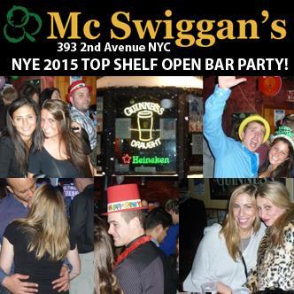 McSwiggans NYC New Years 2015