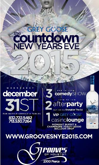 The Countdown NYE 2015