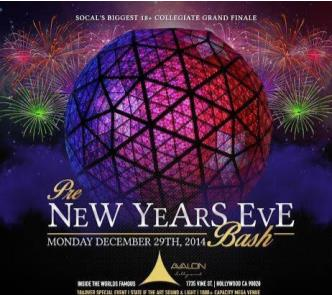 Avalon - Pre New Years Eve 19+