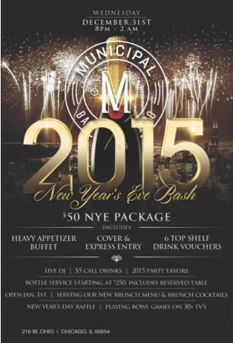 New Years Eve at Municipal