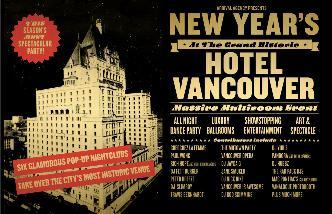 NYE at Hotel Vancouver