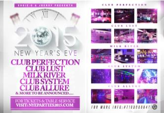 New Years Eve @ Perfection nyc