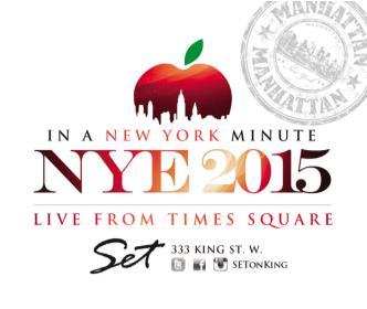 A NEWYORK MINUTE NYE2015 | SET