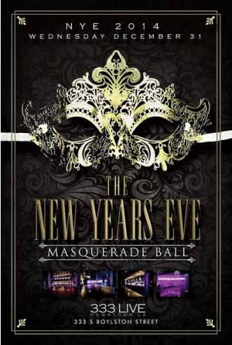 The New Years Eve Masquerade