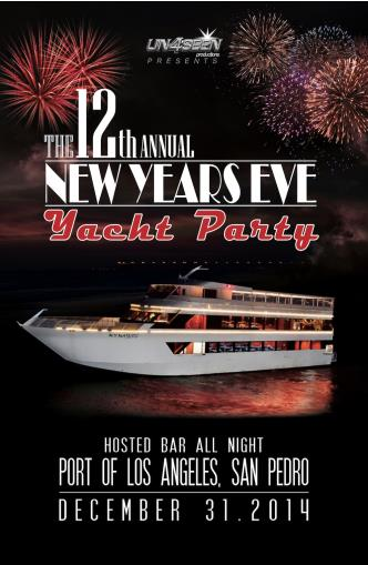 New Year's Eve Yacht Party