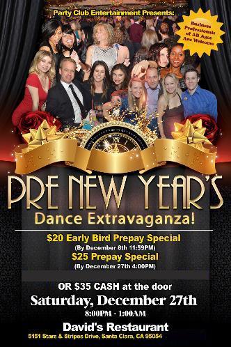 Pre New Year's Extravaganza