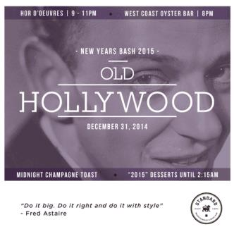 2015 NYE - Old Hollywood Glamo