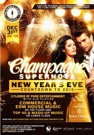 Champagne Supernova - NYE 2015