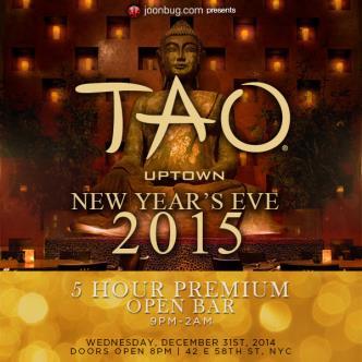 Celebrate NYE at Tao Uptown-img