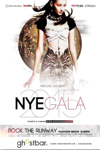The NYE GALA at GhostBAR