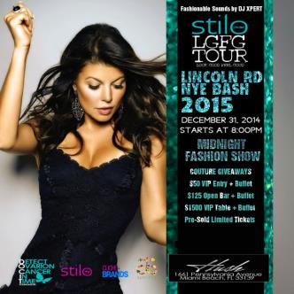 Lincoln Road NEW YEARS BASH