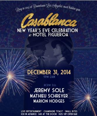 Casablanca New Year's Eve